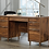 Thumbnail: Sauder Clifford Place Mid-Century Desk (Grand Walnut)