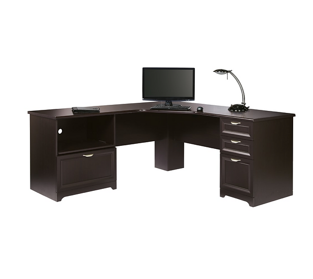 "Realspace® Magellan Performance 71""W L-Shaped Desk"