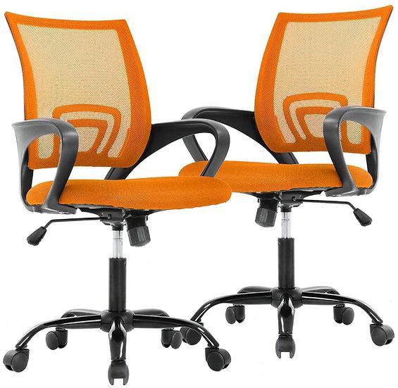 Cavalier Ergonomic Mesh Chair - Orange