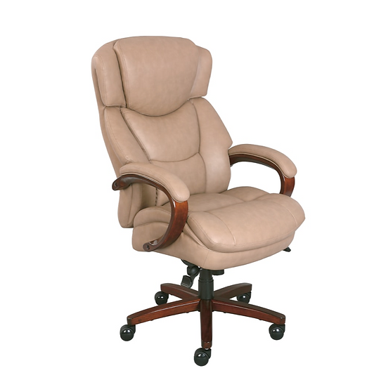 Thomasville® Hudson Big And Tall Bonded Leather High-Back Chair