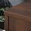 Thumbnail: Sauder Englewood Double Pedestal Executive Desk (Spiced Mahogany Finish)