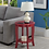 Thumbnail: Convenience Concepts American Heritage Round End Table (Cranberry Red)
