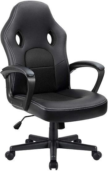 Furmax  High Back Ergonomic Adjustable Task Chair  Swivel - Black
