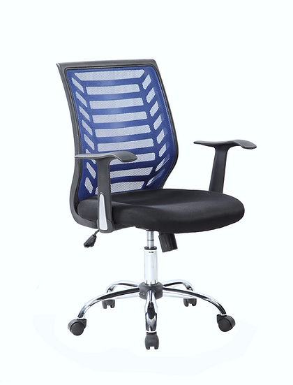 SIT Mesh Back Manager's Chair (Blue & Black)