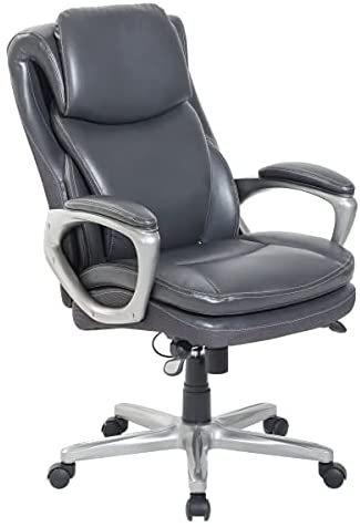Serta® Smart Layers™ Arlington AIR™ Bonded Leather High-Back Executive Chair, Da