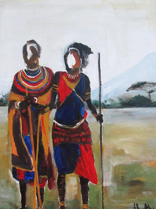 Maasai Graze