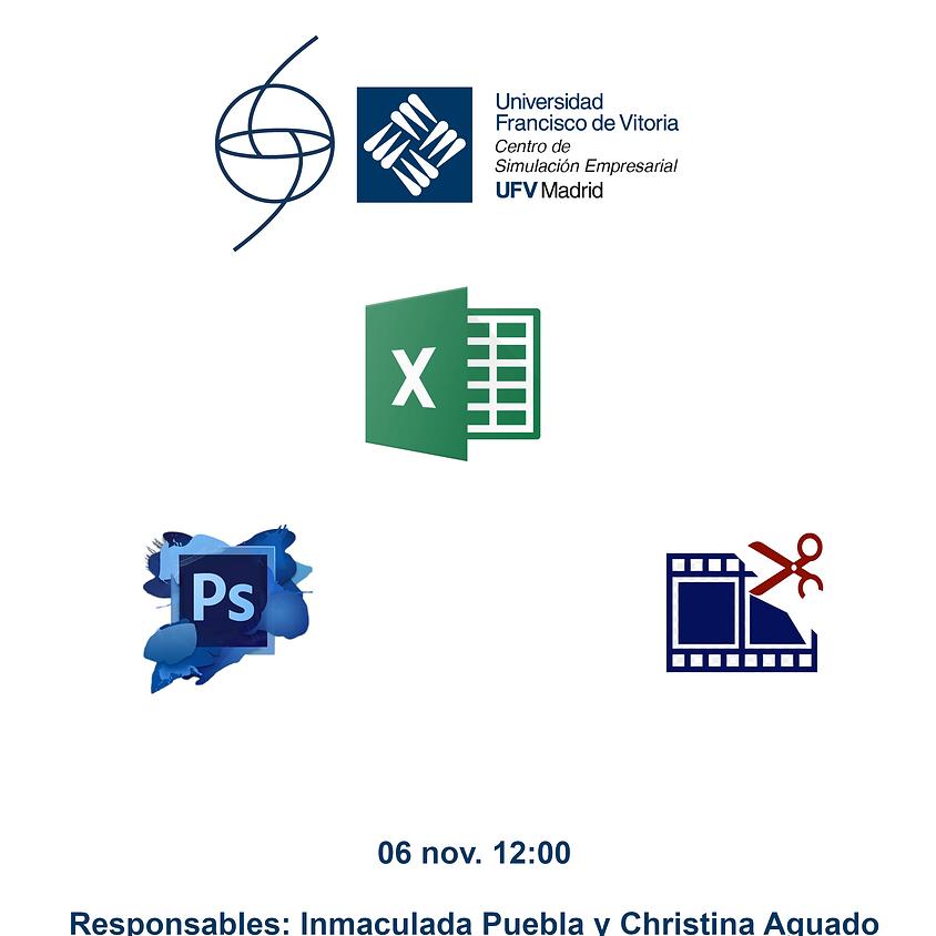 Curso de Iniciación a Microsoft Office Excel ©, Photoshop y edición de video