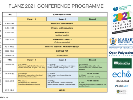 FLANZ 2021 Conference Programme