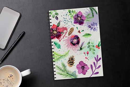 Sešit A5 40 listů - Květy