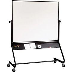 Euro Frame Reversible Mobile Whiteboard