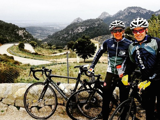Spring cycling in Mallorca
