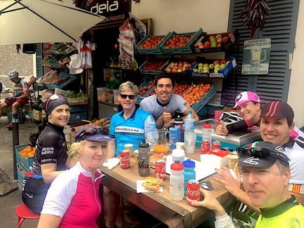 cycling cafe deia