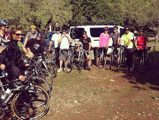 A weekend of cycling, honey, olives and fun!