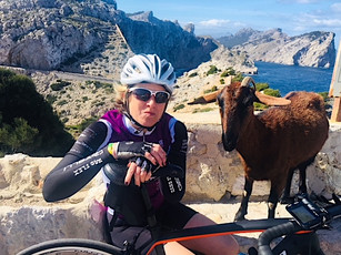 the famous goat at Formentor