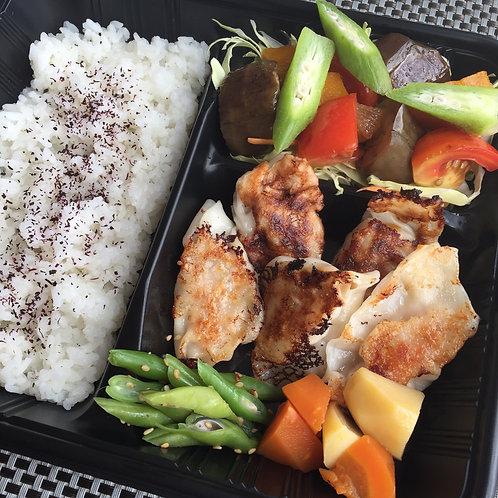 Homemade Gyoza Bento box 餃子弁当