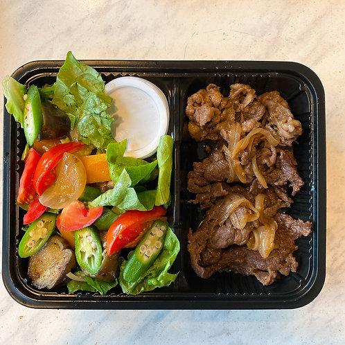 Yakiniku &Salad set (Good for 2) 焼肉とサラダのセット