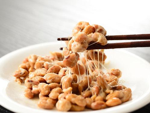Homemade Natto 2 packs 手作り大粒納豆2パック