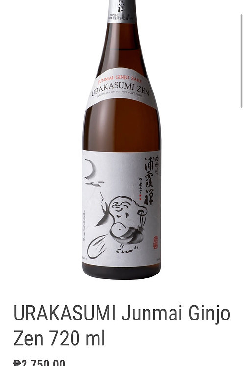 浦霞吟醸禅Uragasumi Ginjyo zen