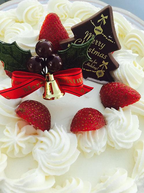 X'mas Cake Strawberry short cake 16cm (4~6pax)
