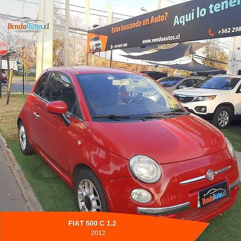Fiat 500 C 1.2 2012