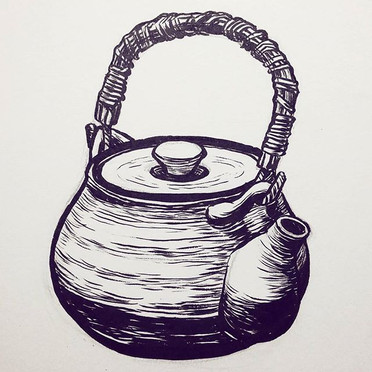 365 teapot madness__#drawing #illustrati