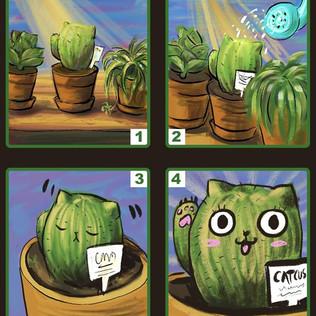 Yay! I drew a short comic panel _P.jpg