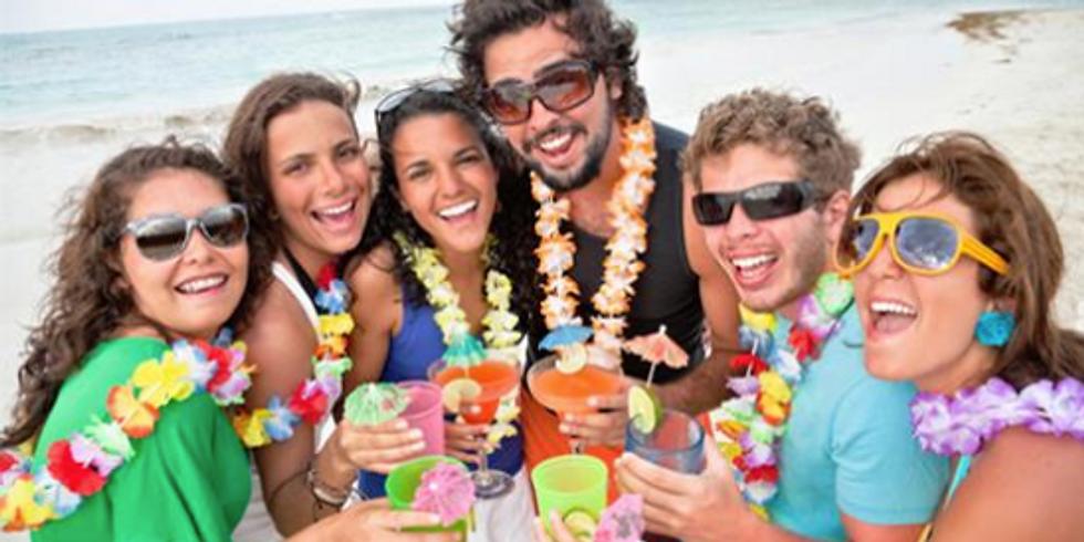 Fiesta Hawaiana para Solter@s en Punta Hermosa