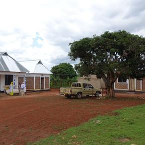 Staatlicher Strom- und Wasserzugang für die Krankenstation