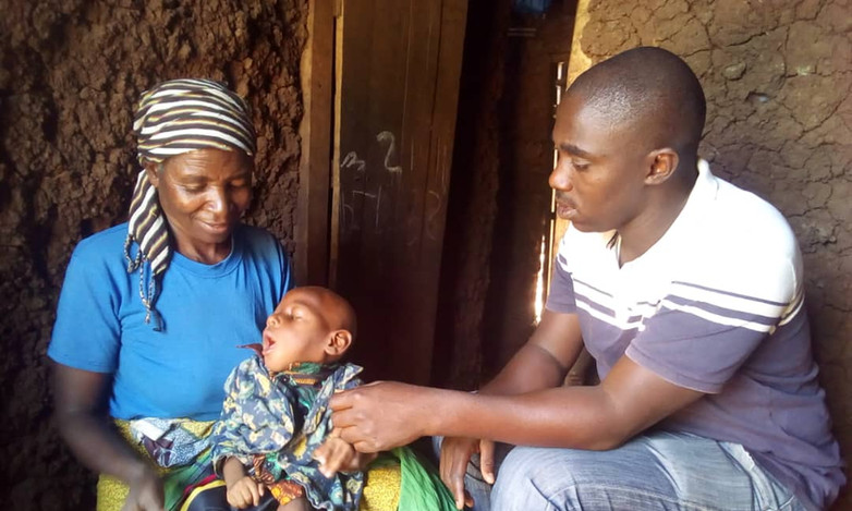 Mentoring of Andwele and his grandmother