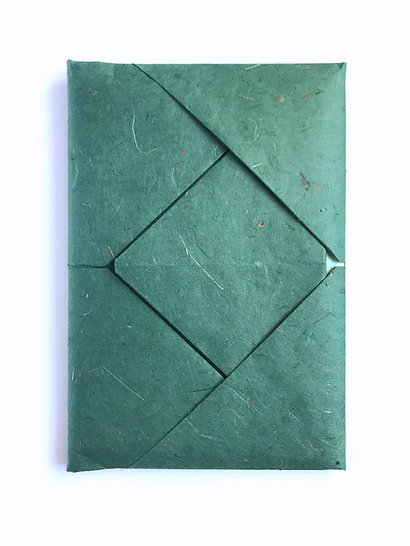 """Blossom"" Grusskarten Set mit Origami-Verpackung"