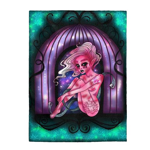 Inner Demon Plush Blanket