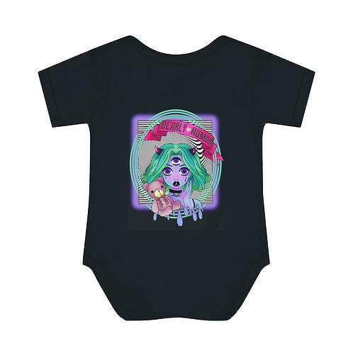Bearly Human Baby Onesie