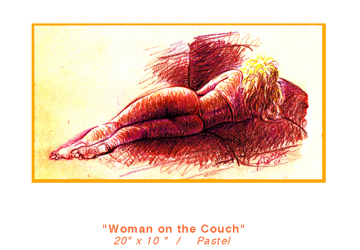 girlon-couch