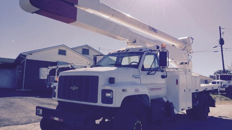 1995 Kodiak Hi Rail 55' Bucket Truck