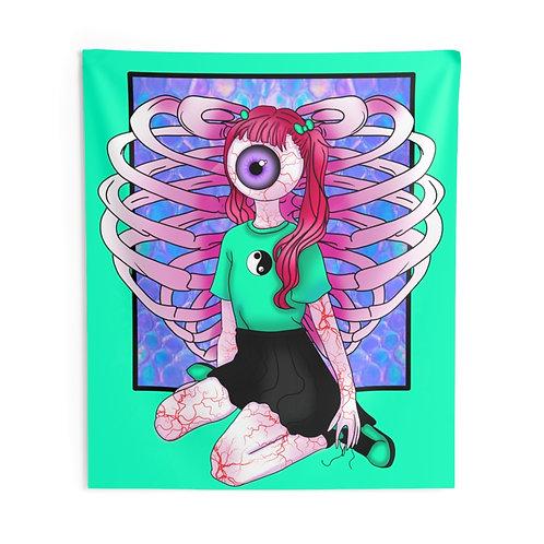 Vanilla Eyes Tapestry
