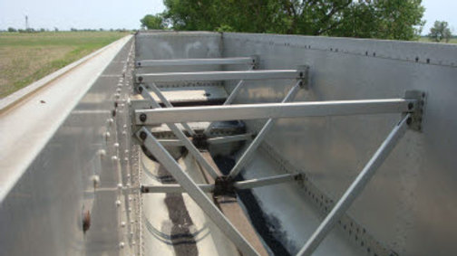 (22) Aluminum Flat Floored Bethgon Coalporter Gondolas Twin Tubs