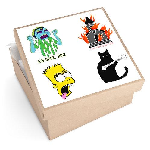 Satirical Sticker Pack