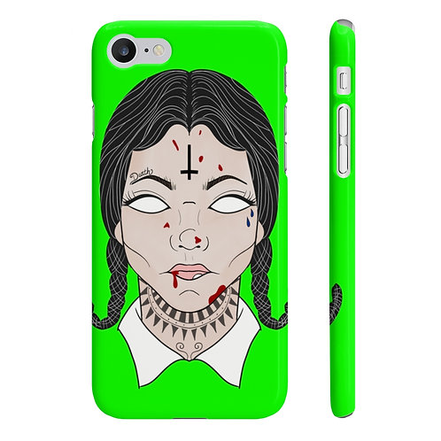 On Wednesdays We Wear Blood Phone Case
