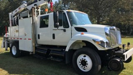 08 International 7300 Gang Truck ( Norfolk Southern ) 34000 Miles