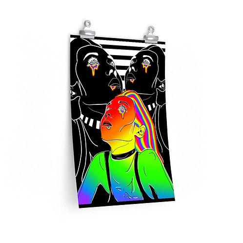 Rainbow Radiation Poster