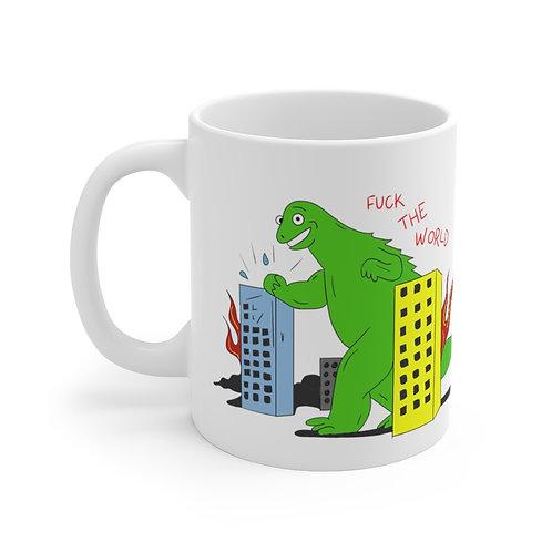 FTW Godzilla Mug