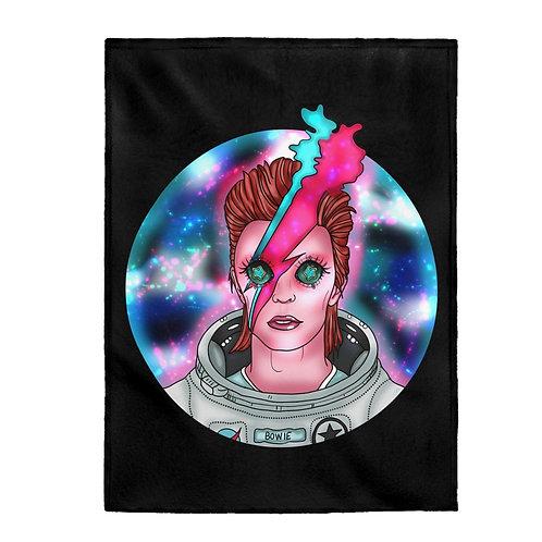 Space Oddity Plush Blanket