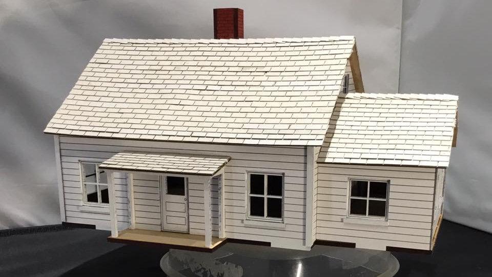 1:48 Scale Dorothy's House Kit