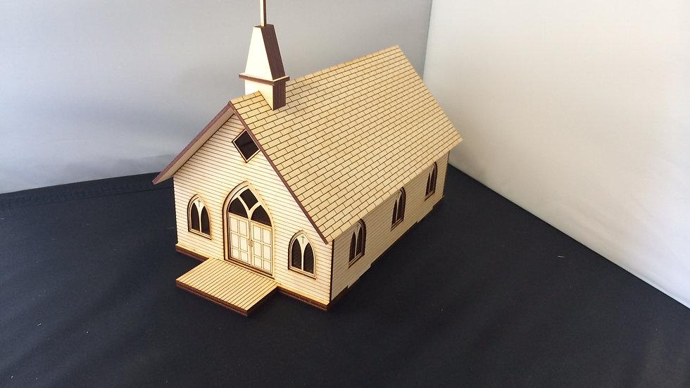 1:48 Scale Gothic Church Kit