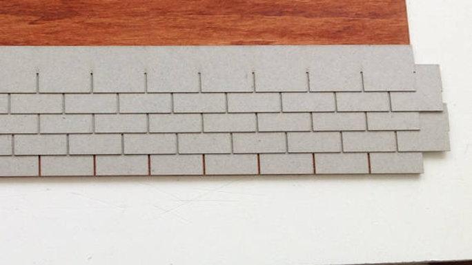 1:24 Scale Modern Tab Shingles