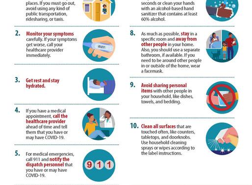 Resources for Coronavirus, COVID-19