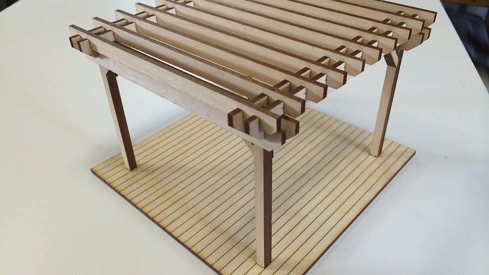 1:24 Scale Pergola Kit