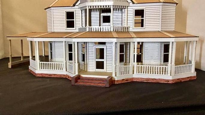 1:48 Walking Dead Farmhouse Kit