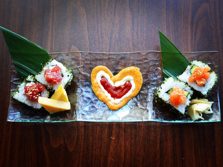 Valentine's Sushi for $2.14!!  Today's Special!!