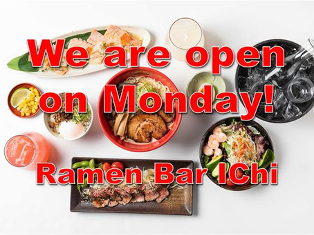 We will open on Monday from tomorrow, Oct 19th.